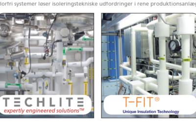 Artikel om vore produkter T-FIT Og TechLite i Teknisk Nyt